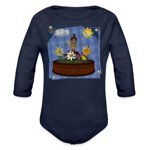 Zonnebloem Toon Baby - Organic Longsleeve Baby Bodysuit