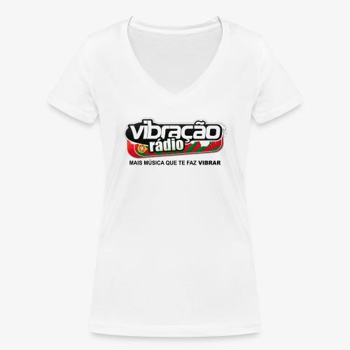 T-shirt en V Femme - T-shirt bio col V Stanley & Stella Femme