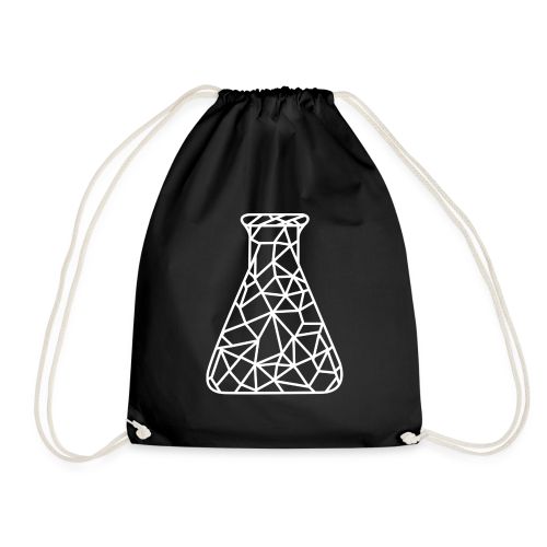 Low Poly Flask Bag - Turnbeutel