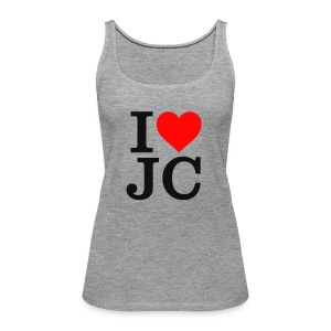 Women's i Heart JC vest/tank top - Women's Premium Tank Top