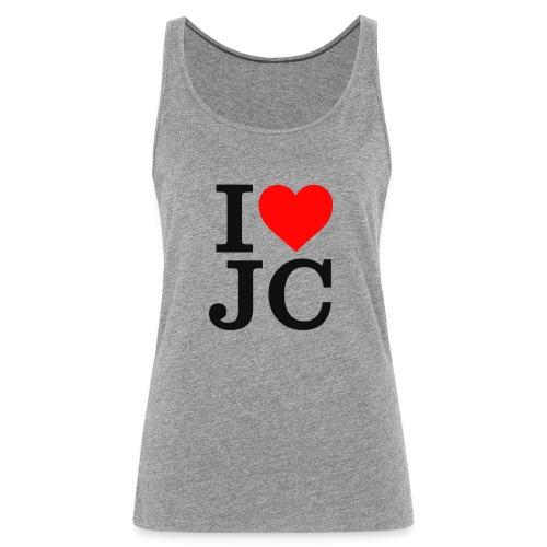 Women's i Heart JC vest/tank top - Women's Premium Tank Top