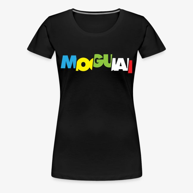 "MOGUAI ""color-advanced-black"" Tee - Woman"