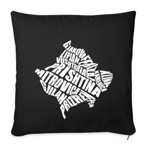 Städte Kosovos - Sofa pillow cover 44 x 44 cm