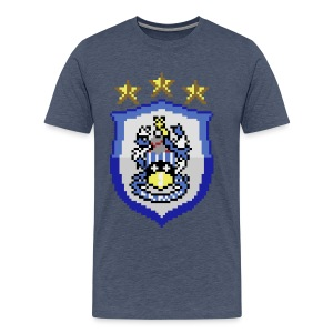 Current HTFC Badge T-shirt - Men's Premium T-Shirt