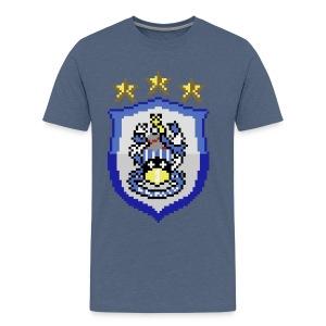 Current HTFC Badge T-shirt - Men's Premium T-Shirt