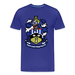 80s/90s HTFC Badge T-shirt - Men's Premium T-Shirt