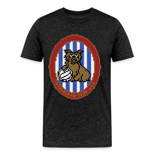 Early 80s HTFC Badge T-shirt - Men's Premium T-Shirt