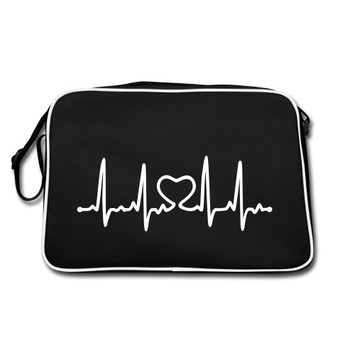 Bleep Heart Bleep - Retro Bag