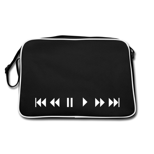 Ff,play,pause,rewind, etc - Retro Bag