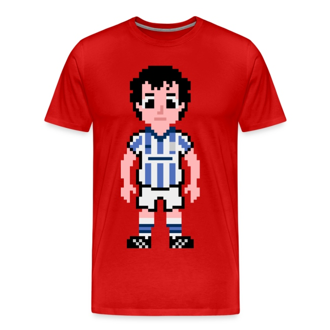 Barry Horne Pixel Art T-shirt