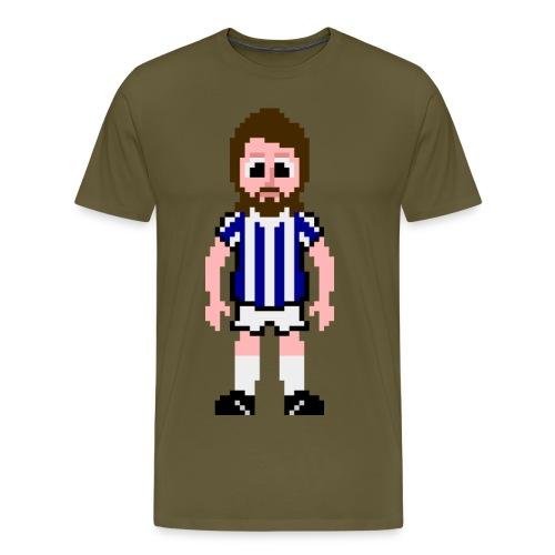 Frank Worthington Pixel Art T-shirt - Men's Premium T-Shirt