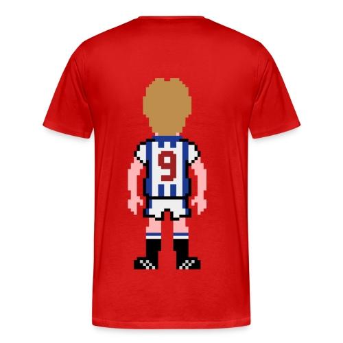 Iwan Roberts Double Print T-shirt - Men's Premium T-Shirt
