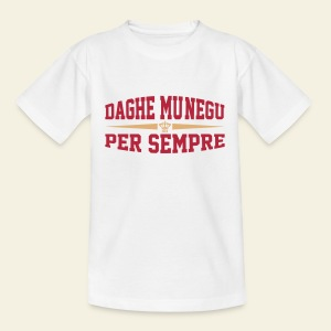 Tee shirt enfant Supporter AS Monaco Daghe Munegu  - T-shirt Enfant
