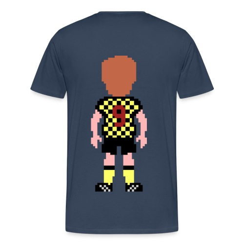 Duncan Shearer Double Print T-shirt - Men's Premium T-Shirt