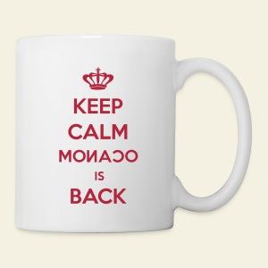 Mug Keep Calm Monaco is Back - Mug blanc