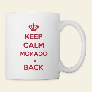 Mug Keep Calm Monaco is Back - Tasse