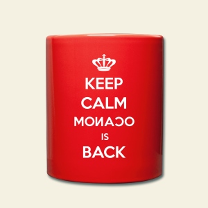 Mug Keep Calm Monaco is Back - Tasse en couleur
