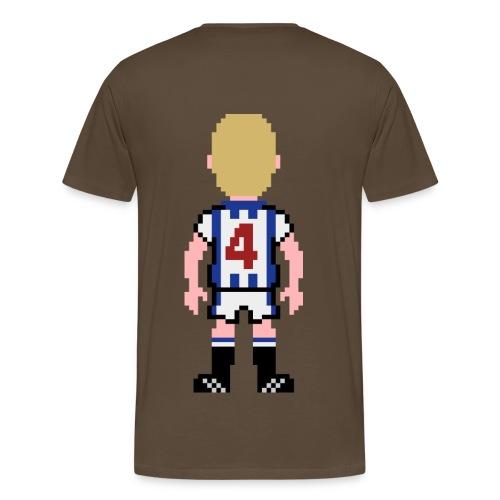 Chris Marsden Double Print T-shirt - Men's Premium T-Shirt