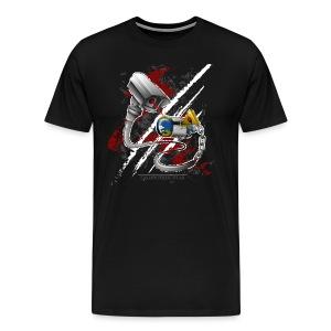 Wo ist meine freie welt? - Männer Premium T-Shirt