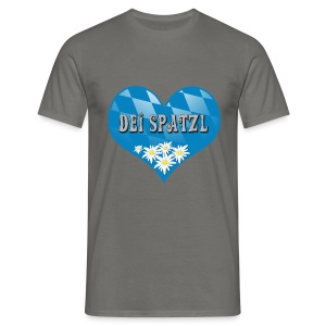 Dei Spatzl  - Männer T-Shirt