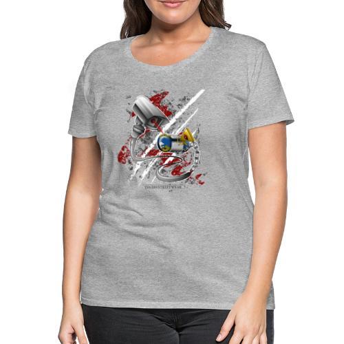 Wo ist meine freie welt? - Frauen Premium T-Shirt