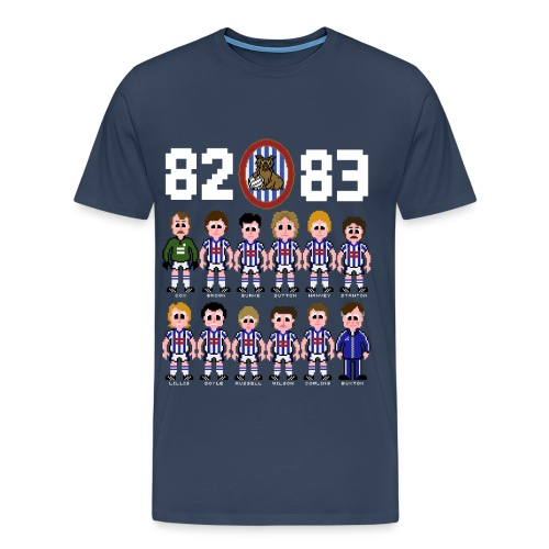 1982/83 Promotion T-shirt - Men's Premium T-Shirt