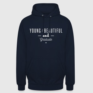 young beautiful graduate Sweaters - Hoodie unisex