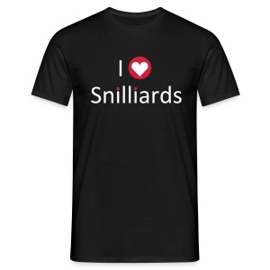 Snilliards-shirt - Men's T-Shirt