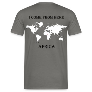 Africa-blanc - T-shirt Homme