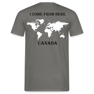 Canada-blanc - T-shirt Homme
