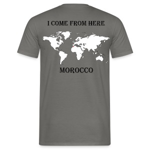 morocco-blanc - T-shirt Homme