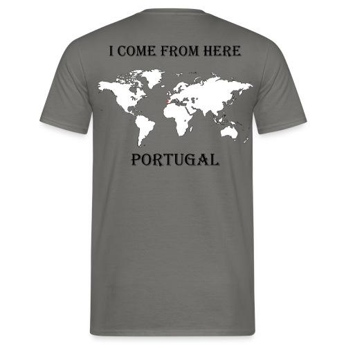 Portugal-blanc - T-shirt Homme