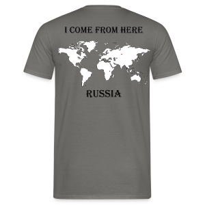 Russia-blanc - T-shirt Homme