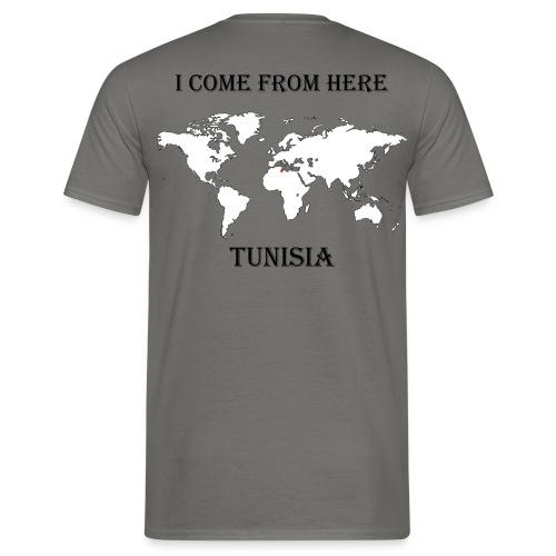 Tunisia-blanc - T-shirt Homme