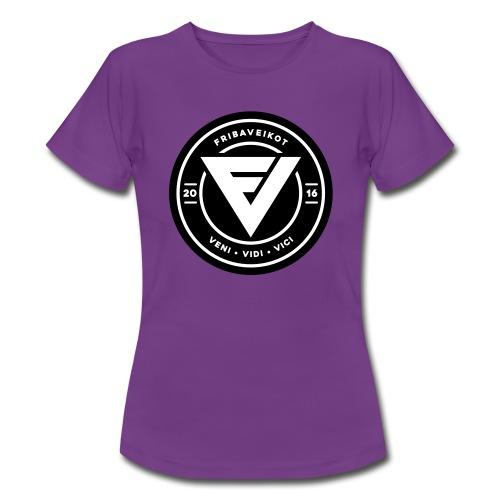 FV Lady t-paita logolla 3 (sileäpainatus) - Naisten t-paita