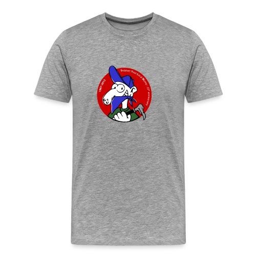Momo couleur droit (S au 5XL) - T-shirt Premium Homme