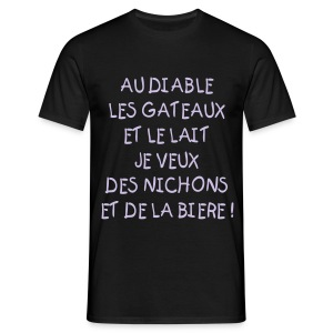 AU DIABLE - T-shirt Homme
