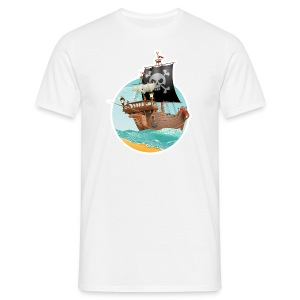 T-Shirt Homme Pirates - T-shirt Homme