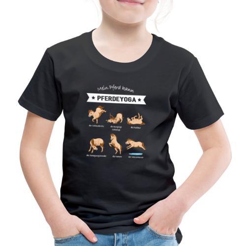 Pferdeyoga Shirt Kinder - Kinder Premium T-Shirt