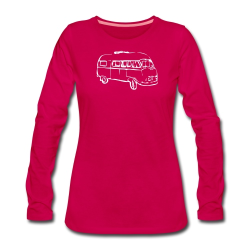 Ladies longsleeve - Vrouwen Premium shirt met lange mouwen
