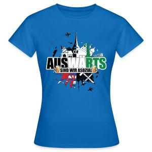 AUSWÄRTS-Damenshirt - Frauen T-Shirt