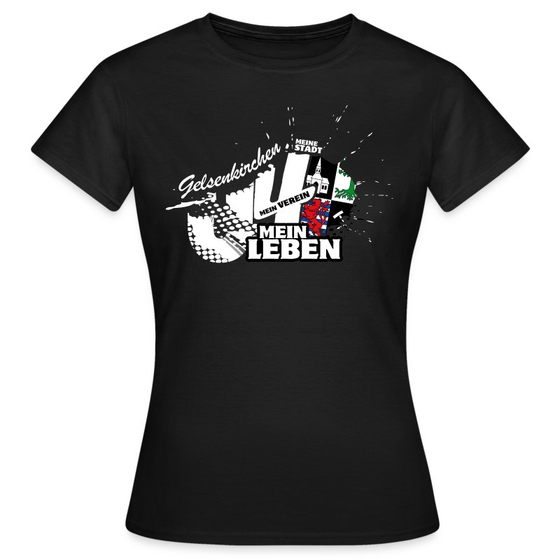 Gelsenkirchen Shirt - Damen - Frauen T-Shirt
