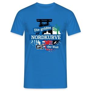 Facebook Logo DGNKDW - Männer Shirt - Männer T-Shirt
