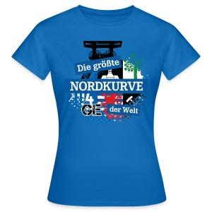 Facebook Logo DGNKDW - Damen Shirt - Frauen T-Shirt