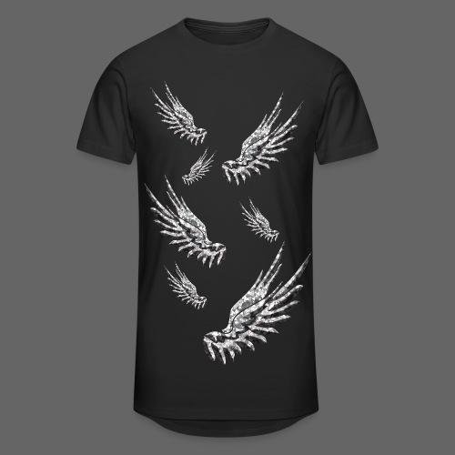 Long-T - Falling Wings (Black) - Männer Urban Longshirt