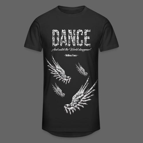 Long-T - Dance - Falling Wings (Black) - Männer Urban Longshirt