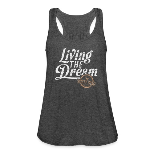 Ladies Living The Dream Racer - Women's Tank Top by Bella
