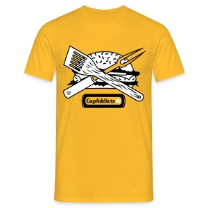 Burger - Yellow - Männer T-Shirt