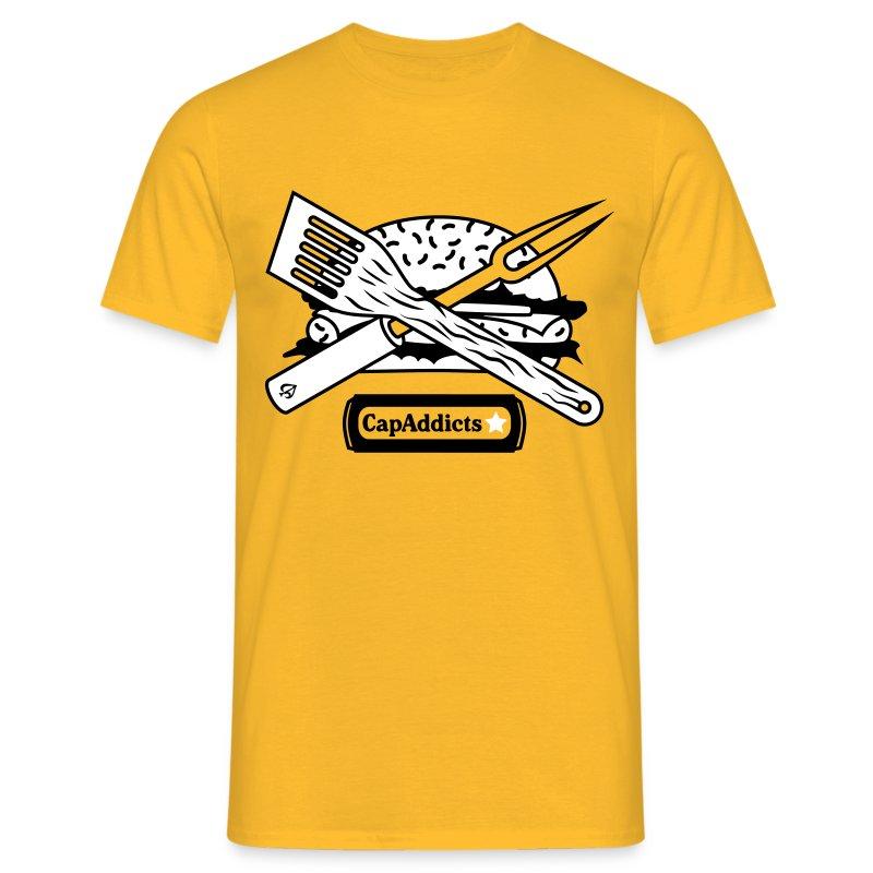 Burger - Yellow - Männer T-Shirt