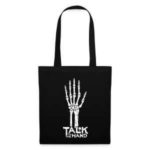 Talk to the Hand Tote - Tote Bag